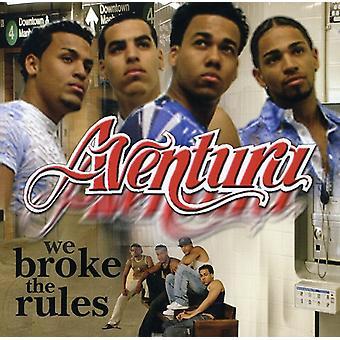 Aventura - We Broke the Rules [CD] USA import