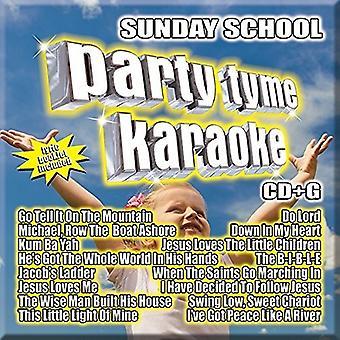 Various Artist - Party Tyme Karaoke: Sunday School [CD] USA import