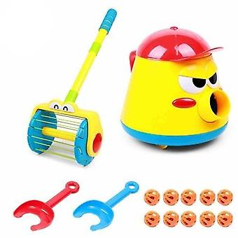 Electric Whirl Ball Launchers Walker Baby Vacuum Cleaner Toy
