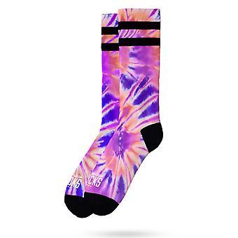 Unisex American Socks Tie Dye - struikelen als112