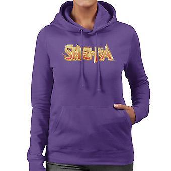 She-Ra Golden Logo Women's Hooded Sweatshirt