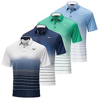 Mizuno Mens 2021 Quick Dry Mirage Sublimated Print Move Tech Polo Shirt