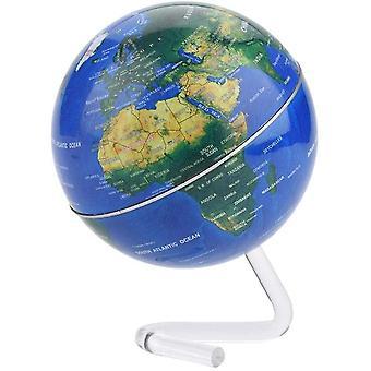 Globus Rotierend mit Stnder Pdagogisch fr Kinder Haus Bro Schule Lernen Geographie Werkzeug(Blau)