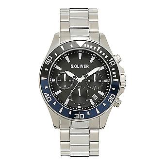 s.Oliver SO-4237-MC Men's Watch Chronograph