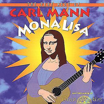 Carl Mann - Mona Lisa-Very Best of Carl Ma [CD] USA import