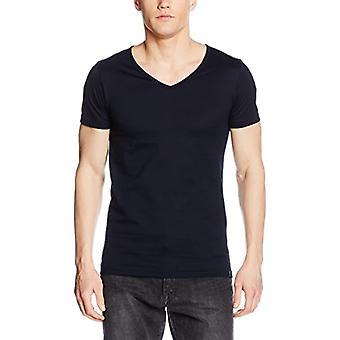 Trigema 636203 T-Shirt, Blue (Ship 046), Small (Manufacturer's Size: S) Man