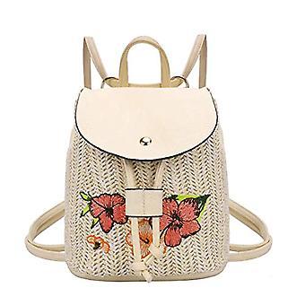 IIKIIK - PU Leder Damen Rucksack, Mini-Daypack, Unisex, casual, wasserdicht, Reiserucksack, Farbe: Lila