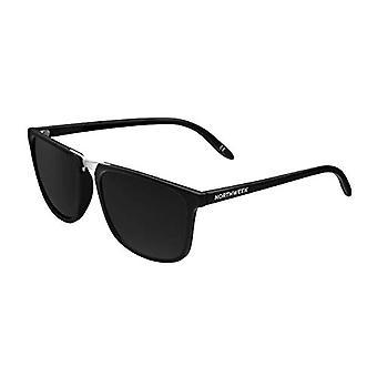 Northweek Shelter BIDART Sunglasses, Black (Silver), 140.0 Unisex-Adult