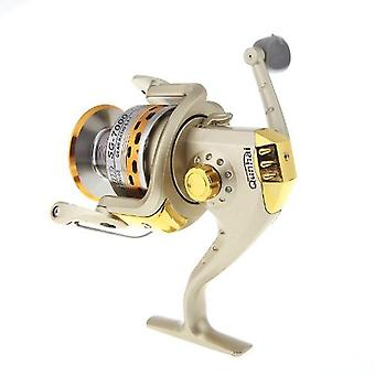 6BB Ball Bearings Left/Right Interchangeable Collapsible Handle Fishing Spinning Reel SG7000A 5.1:1 Golden