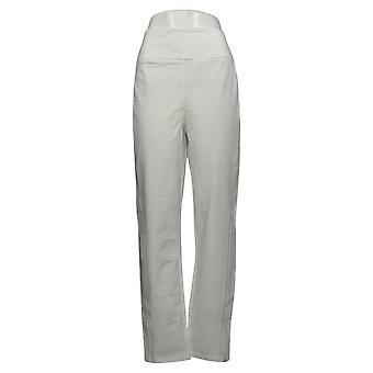 Vrouwen met controle vrouwen broek Reg Slim Been Contour Taille Wit A241127