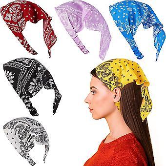 Kvinders tasker bandana pandebånd elastisk minimalistisk hår tilbehør