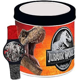 Jurassic world watch - tin box 570744