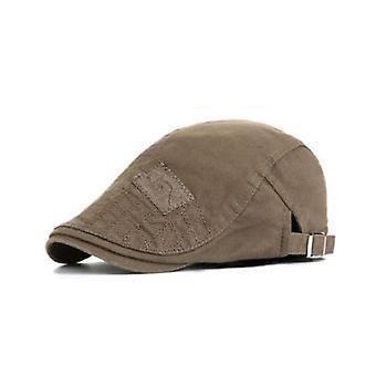 Men's Hat, Berets Cap, Golf Driving Sun Flat Hat