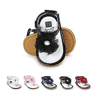 BENHERO Infant Baby Girls Flower Anti-Slip Rubber Sole Prewalker Toddler Sandals