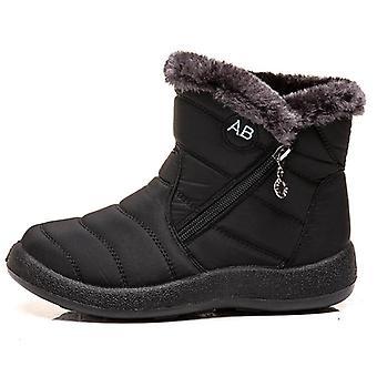 Women Winter Boots, Waterproof Ankle Boots
