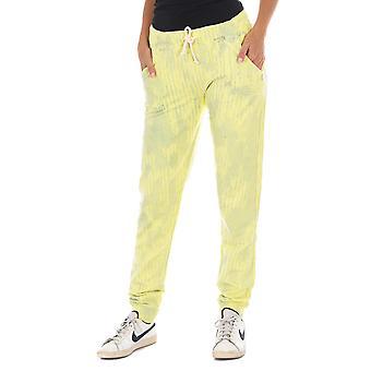 MET pantalones de mujer Nora amarillo