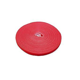 LTC Pro Roll Cablu de gestionare Hook și Loop Tape (Roșu)