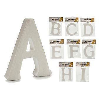 Letras ABCDEFGHI Blanco (9 piezas)