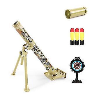 Mörser Modell Raketenwerfer Katapult Montage Boy Spielzeug (GELB)