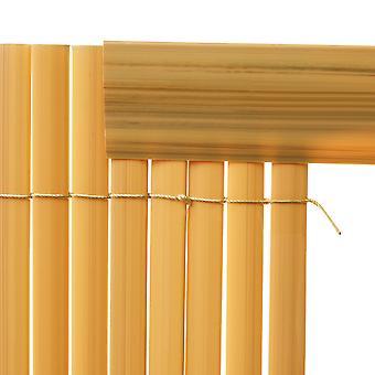Ensemble de 5 couvertures de profil de 1 M pour clôture de panneaux