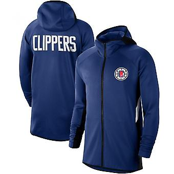 La Clippers Showtime Therma Flex Performance Full Hoodie Top