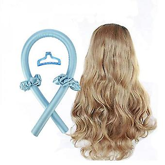 Heatless Curling Rod Headband Lazy Curler Set Wave Formers Hair Rollers