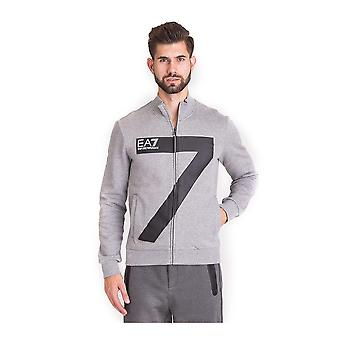Men's Sports Jacket Armani Jeans 6ZPM48 PJ07Z Grey Cotton