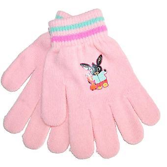 Bing Finger Handschuhe Hellrosa