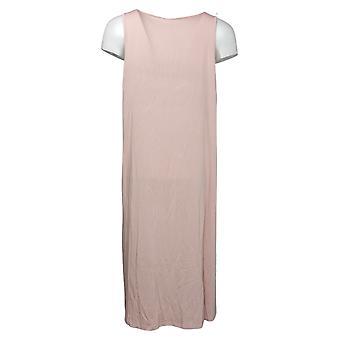 WynneLayers By MarlaWynne Dress Jersey Knit Tank With Pockets Pink 741379