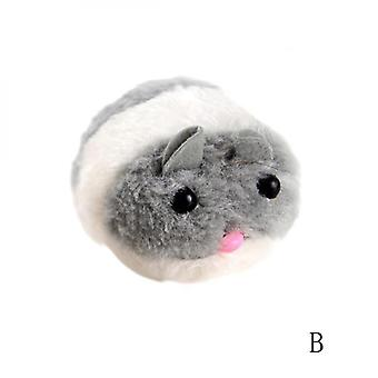 Funny Pet Puppy Toy Cat Playing Toy Shaking Cute Plush Fat Mouse