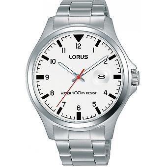 Lorus Silber Edelstahl RH965KX9 Herrenuhr