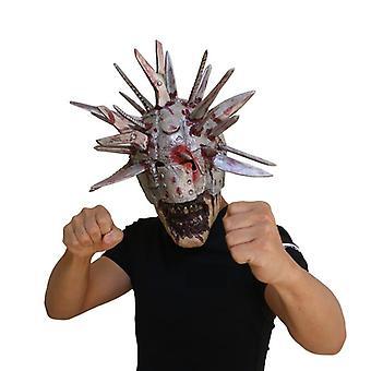 Messen Zombie Terror Mask The Walking Dead Masker Halloween Party Met Simulatie Wapens Op Het Hoofd Latex Helm Blade Mensen Masker