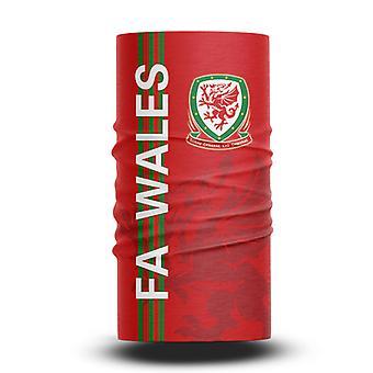 ネックガイターズフットボールヘッドスカーフワールドカップファン男性と女性多機能カラースポーツライディング日焼け止めビブ - ウェールズチーム