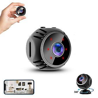 Laiqiankua W8 1080p 360 Wifi Usb Mini Ip Camera Hotspot Connexion infrarouge Vision nocturne Enregistreur d'alarme surveillance-1 Pièce