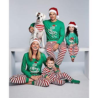 Familie Passende Weihnachten Elch Pyjamas Weihnachtsparty Pjs Pyjamas Nachtwäsche Sets