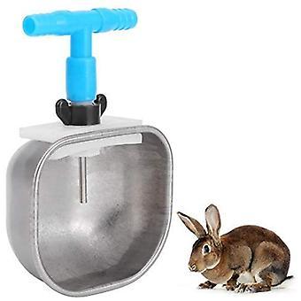 Ruostumaton teräs automaattinen kani juomanippa juomakulho Waterer Farm lisävaruste kani