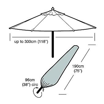 Large Heavy Duty UV Protected All Weather Dust Parasol Umbrella Cover