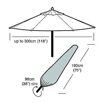 Suuri raskaan UV suojattu kaikki sää Parasol sateenvarjo pölysuoja