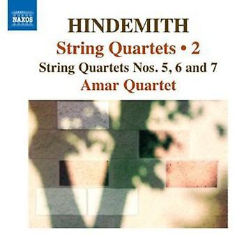 P. Hindemith - Hindemith: quartetos de cordas, importação EUA Vol. 2 [CD]