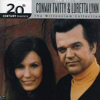 Twitty/Lynn - Millennium Collection-20th Century Masters [CD] USA import