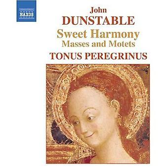 J. Dunstable - Dunstable: Sweet Harmony - massene og motetter [DVD] USA importere