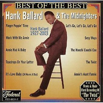 Hank Ballard & Midnighters - Best of the Best [CD] USA import