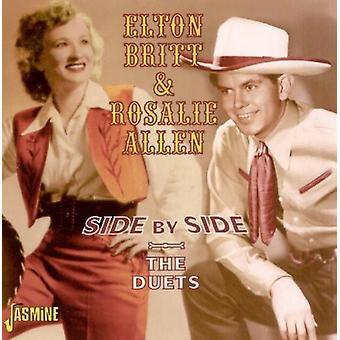 Elton Britt & Rosalie Allen - lado por importação de lado-os EUA duetos [CD]