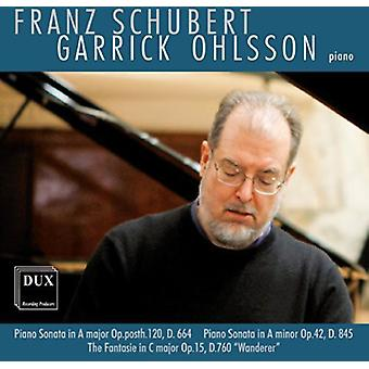 Schubert - Garrick Ohlsson Plays Franz Schubert [CD] USA import