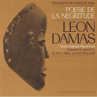 Léon-Gontran Damas - Poesie De La negritud: Importación de Estados Unidos Leon Damas Lee seleccionado [CD]