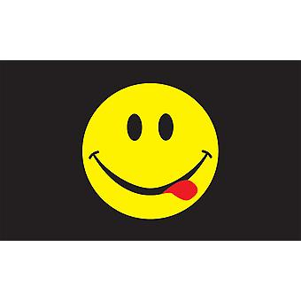 5 ft x 3 ft flagg - syre Smiley