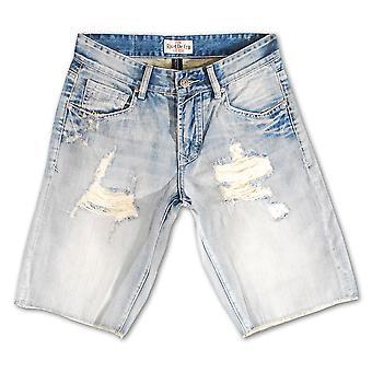 Klinke De Cru hvit kyss Denim Shorts
