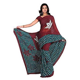 Chakori Georgette Printed Casual Saree Sari Bellydance fabric