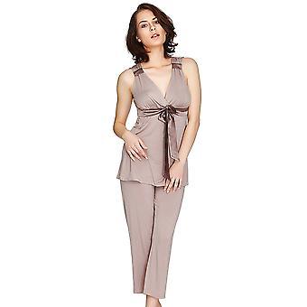 Salon Mio Santiago Micro Modal moka pyjama mis 132C488M