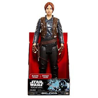 """Star Wars Rogue egy nagy alak 20 """"őrmester Jyn ERSO"""